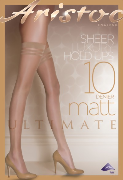 Aristoc - 10 denier Ultimate Matt Hold Ups