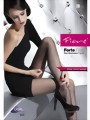 Fiore - 20 denier tights with improved durability Forte, tan, size M