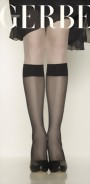 Gerbe - Sheer mat knee highs without lycra Voile Boutique 20 DEN