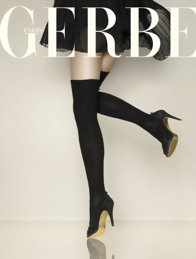 Gerbe - Warm ribbed winter over the knee socks Arpege