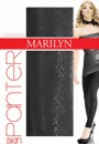 Marilyn - Leopard print leggings Panter 120 DEN