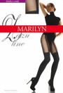 Marilyn - Charming mock suspender tights Zazu Line, 60 DEN